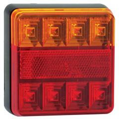 LED compact achterlicht zonder kentekenverlichting 12v 0,4m. kabel