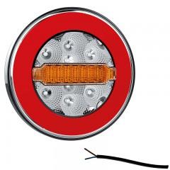 LED ACHTERLICHT Y-HOMOLOGATIE ZONDER KENT.VERL. 12/36V 1 meter kabel