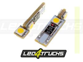 WARM WIT - 4xSMD LED 24V - W3W / W5W PER SET