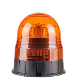 LED Zwaailamp Amber R65 met 3-bouts montagevoet 12v/24v | nieuwe lens