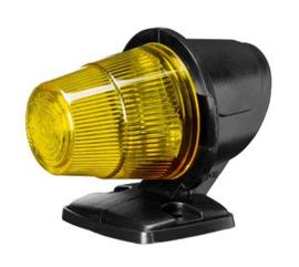Toplamp geel 12/24 volt oldskool gloeilamp