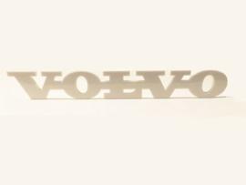 VOLVO EMBLEEM -WIT