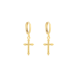 CLASSIC CROSS EARRINGS