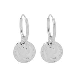 CAESAR COIN EARRINGS