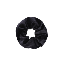 SWEET VELVET SCRUNCHIE - BLACK