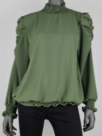 TOP SMOKEY ARMY GREEN (One Size)