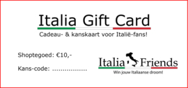 Italia Gift Card