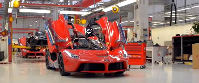 Ferrari Factory Tour