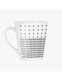 Latte mok met tekst en print - Coffee and chill