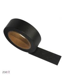 Zoedt masking tape / washi tape  egaal zwart