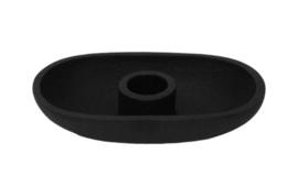 kandelaar Fien - poedercoat zwart