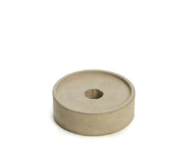 kaarsenhouder voor potloodkaarsen - beton grijs