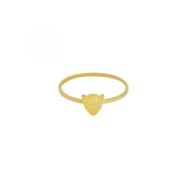 Ring panter - goud