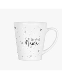 Latte mok - met gedicht voor de liefste mama