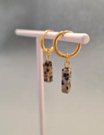 Hoops dalmatian bar - goud