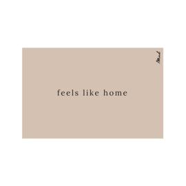 Mat (scraper) 65x110 - feels like home