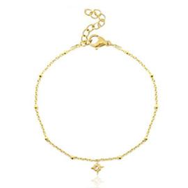 armband sparkling star - goud