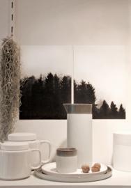 Helianthe's Kaartenhuis - A4 print donkere bomen 1