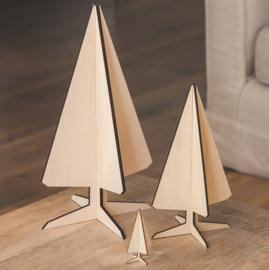 noRdic houten dennenboom - SMALL