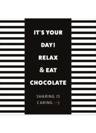 Chocolade in cadeauverpakking- It's your day!