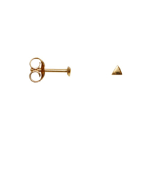 Earring mini triangle - goud