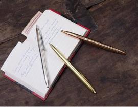 metalen pennen goud - zilver - koper