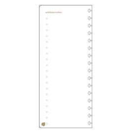 Paper Time planner navulling - dagplanning/ to-do-lijstjes