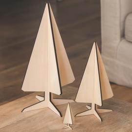 noRdic houten dennenboom - LARGE