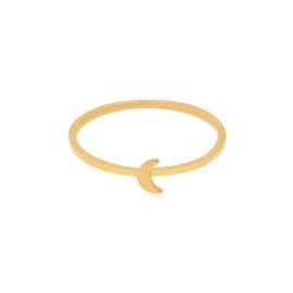 Ring maan - goud