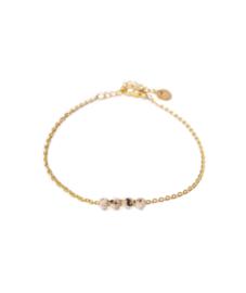 Armband - Jade Shell gold