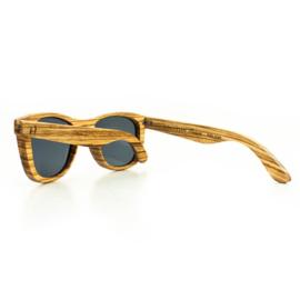 Houten zonnebril (gepolariseerd) -  Belle Mare