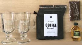 Irish Coffee gift set (incl 2 Tullamore Dew glazen en whisky)