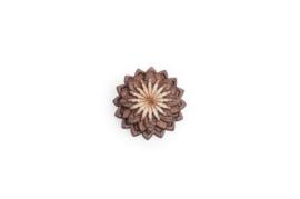 houten speldje - Oriens flower