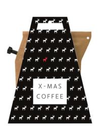 Koffie in kerstverpakking - x-mas coffee