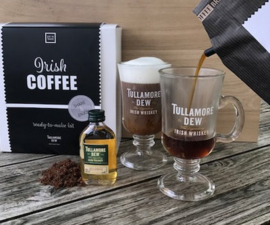 Irish Coffee gift set (incl 2 Tullamore Dew glazen en whisky)