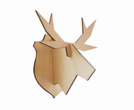 noRdic houten eland hangend - MEDIUM