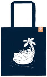Goodbag shopper - Rhino - blauw