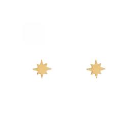 Stud earrings NORTHSTAR - goud