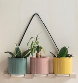 Plantenhanger voor aan de muur - Fenix trio