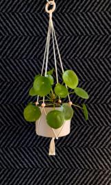 Minimalistische plantenhanger - verstelbaar