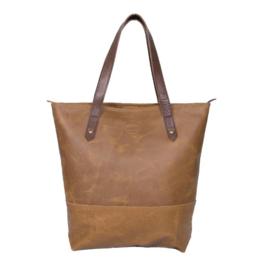 Leren shopper - Nisha