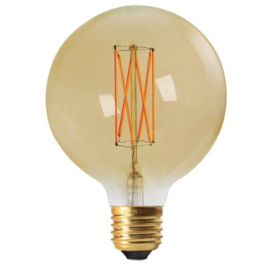 Edison led lamp gold