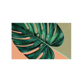 Mat (scraper) 65x110 - monstera