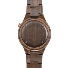Houten horloge van sandelhout - Silva Hot&Tot