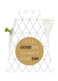 Thee in cadeauverpakking - it's a good to have a good day