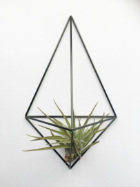 DIY wall planter Facet carbon- Draadzaken
