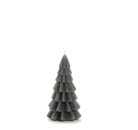 Kerstboom kaars klein - Antraciet
