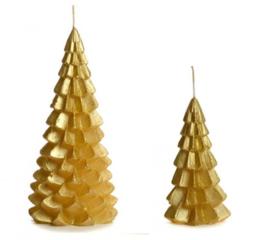 Kerstboom kaars gold - Rustik lys