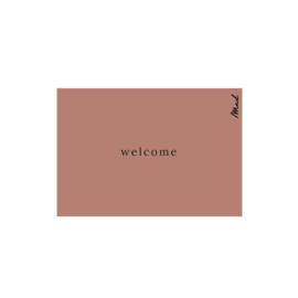 Mat (scraper) 50x75 - welcome