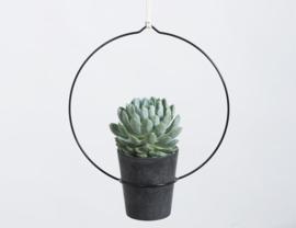 Plantenhanger Circula zwart